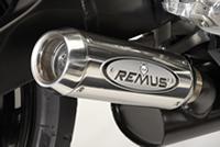 Suzuki GSX-R 750 Remus round conical RVS