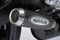 Suzuki GSX-R 750 Remus round conical carbon